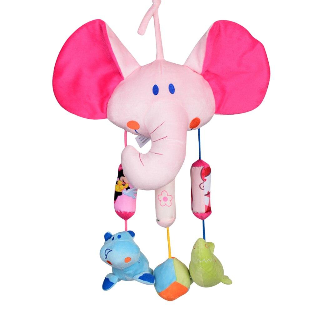 1 Pc Bed Bel Zacht Opknoping Developmental Educatief Wandelwagen Speelgoed Bed Bells Knuffel Rammelaar Speelgoed Voor Baby Baby