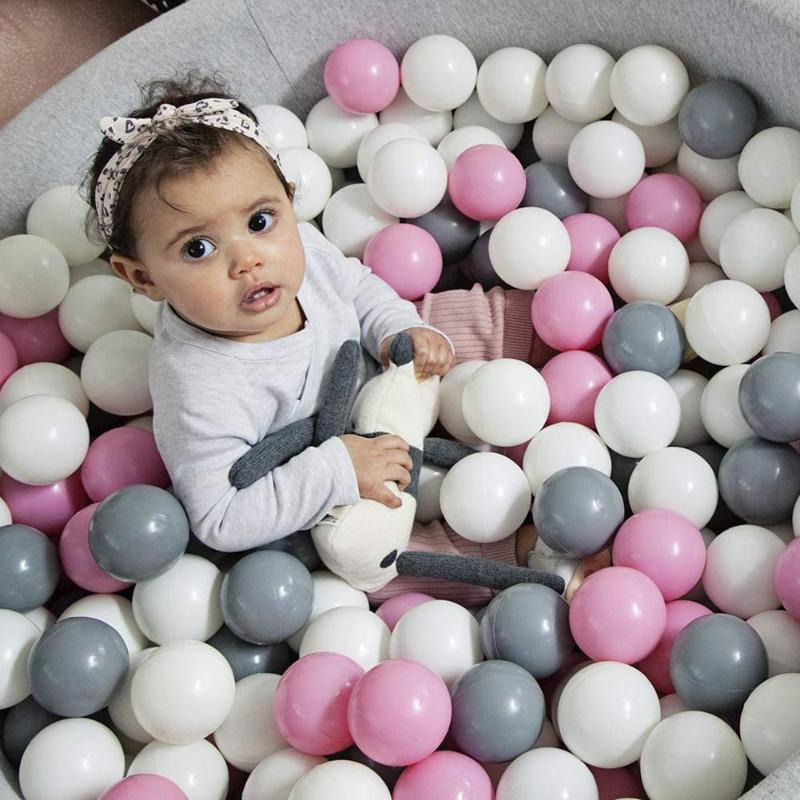 100pcs/50pcs Eco-friendly Plastic Ball Toys Soft Ocean The Pool Balls Baby Swimming Pit Toy Funny Outdoor Indoor Sports Kid Toy