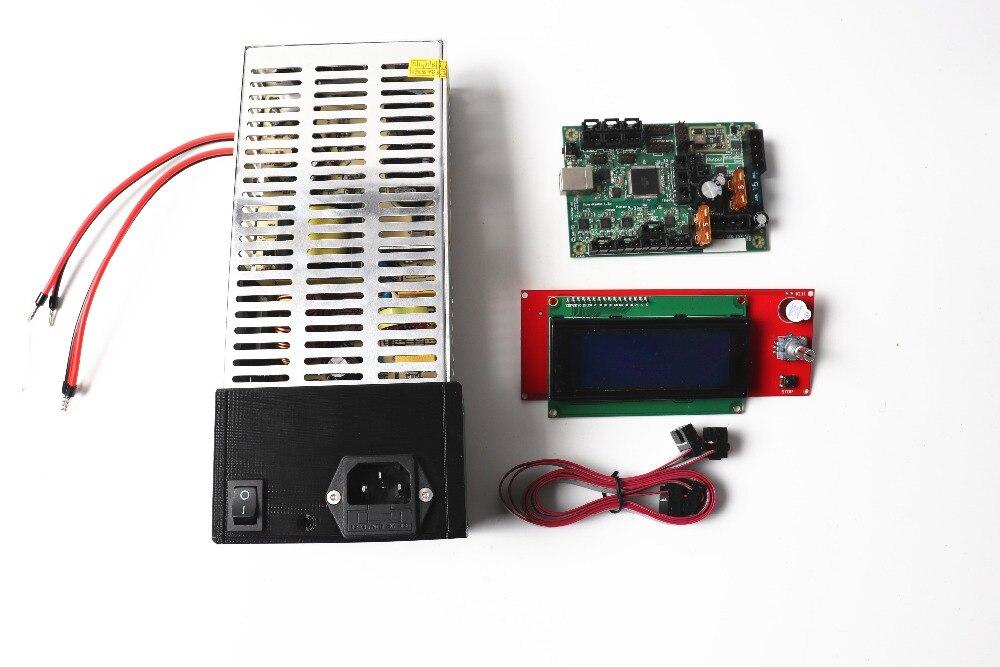Prusa i3 mk2 mk2s 3d printer mini rambo 1 3a motherboard LCD screen and PSU power
