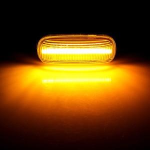Image 5 - Led ديناميكية الجانب ماركر بدوره مصباح إشارة متسلسل الوامض ضوء Emark لأودي A3 S3 8P A4 S4 RS4 B6 B7 B8 A6 S6 RS6 C5 C7