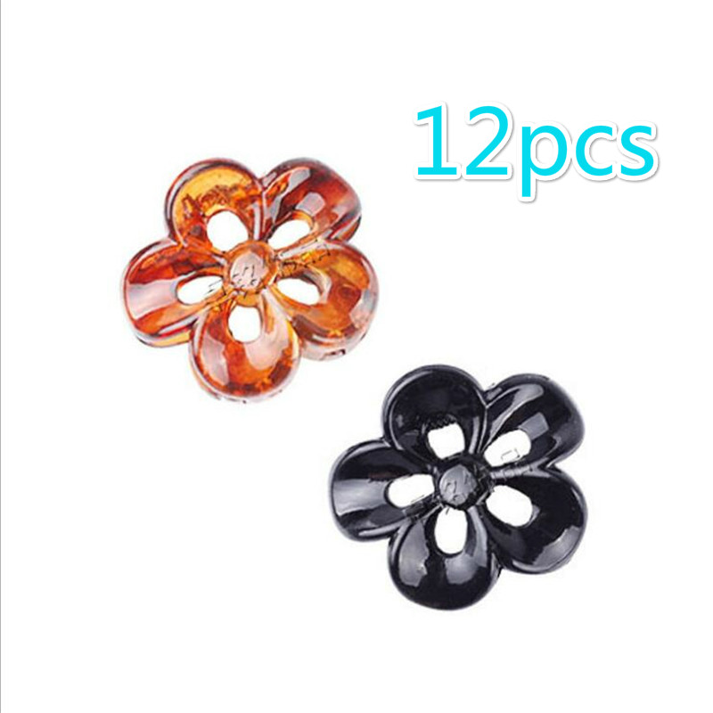 12 PIECES LOT Mini Hair Claw For Women High Quality PS Plastic Fringe Hairpin For Girls Crab For Hair Small Size Flower Clamps in Women 39 s Hair Accessories from Apparel Accessories
