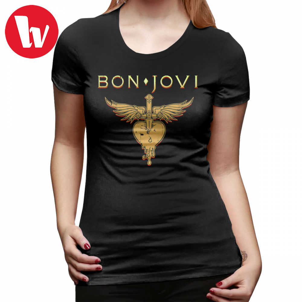 a15bb2444e5 Detail Feedback Questions about Hard Metal T Shirt Bon Jovi Because ...