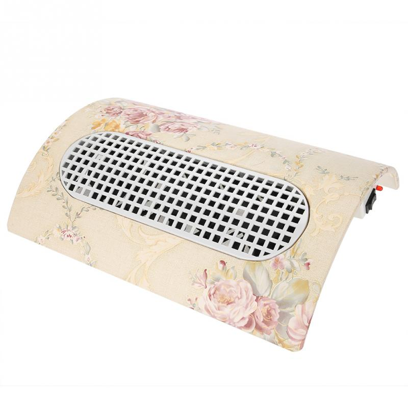 Nail Dust Suction Collector Manicure Machine Vacuum Cleaner Manicure Tools With 3 Fans 2 Dust Bag