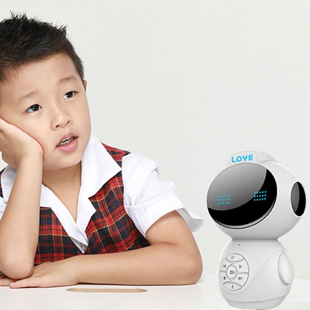 LY-L4 Intelligent Dialogue vocal éducation précoce Robot d'apprentissage Machine Robot jouet pour 0-14 ans enfants carte mémoire évolutive