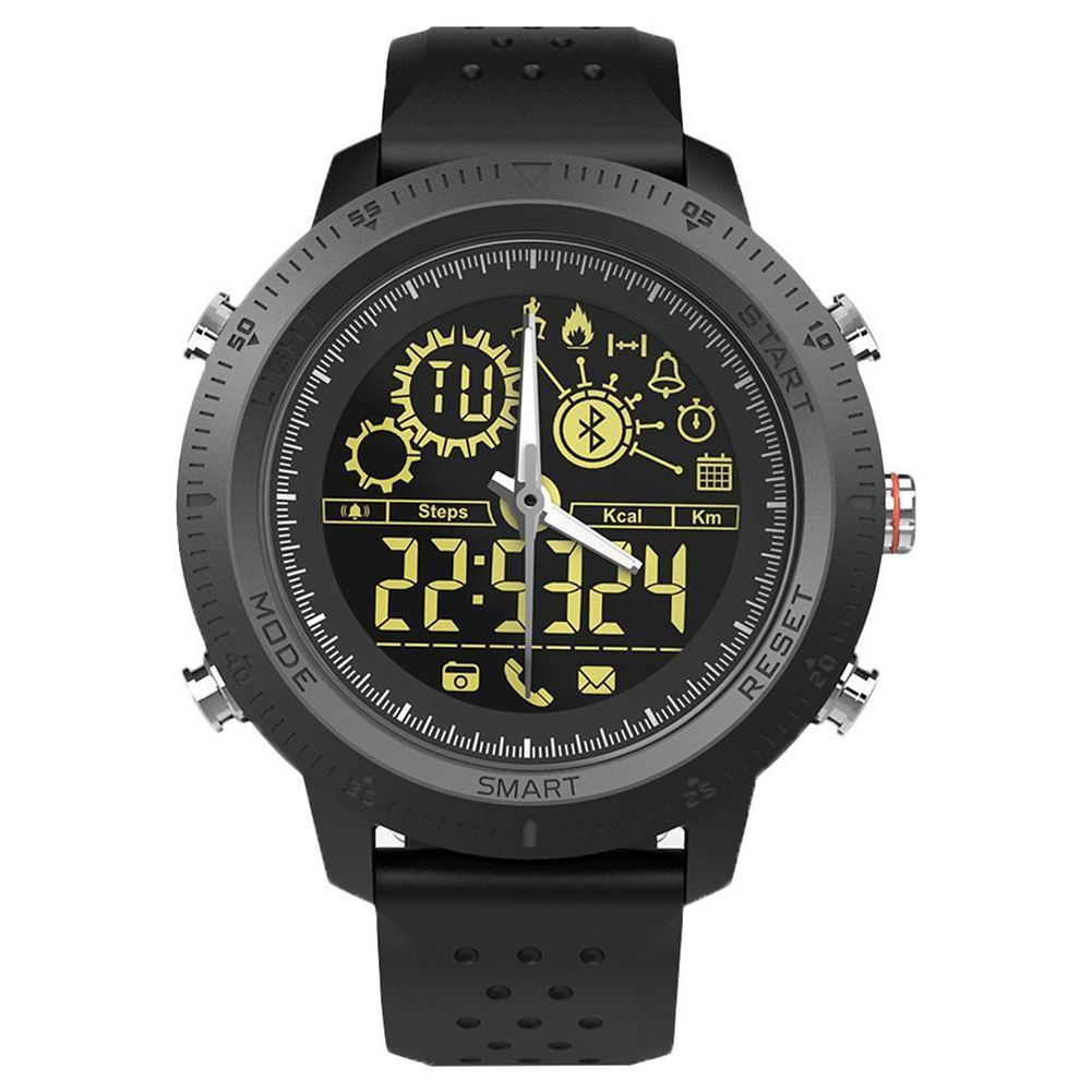 Nx02 Sport Horloge Slimme Armband Fitness Tracker Monitor Mode Pols Band Yu Keuze Materialen