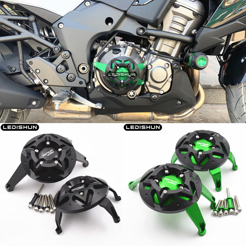 For kawasaki VERSYS1000 versys 1000 Motorcycle Accessories guard from Engine Protective Cover Fairing Guard Sliders Crash