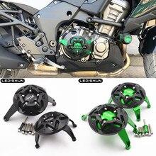 สำหรับ kawasaki VERSYS1000 versys 1000 รถจักรยานยนต์อุปกรณ์เสริม guard จากเครื่องยนต์ป้องกันฝาครอบ Fairing Guard Sliders Crash Pad