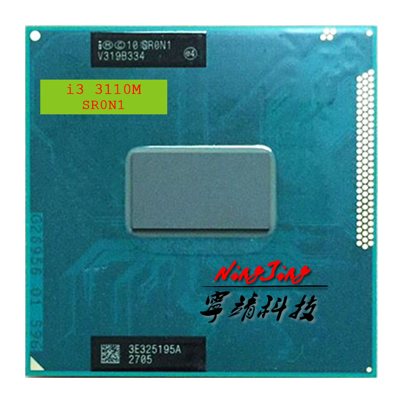 Intel Core i3 3110M i3 3110M 2.4 GHz Dual Core Quad Thread CPU Processor 3M 35W Socket G2 / rPGA988B-in CPUs from Computer & Office