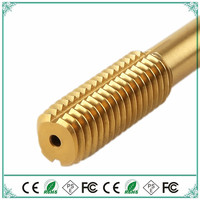 Taps M2 M12 HSS Coated titanium extrusion No scrap high performance thread Tapping steel stainless steel processing 10PCS