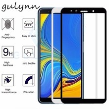 Full Cover Temered Glass For Samsung Galaxy A 10 20 30 40 50 60 70 Phone Screen Protector J 4 6 8 Plus 2018  Protective Film