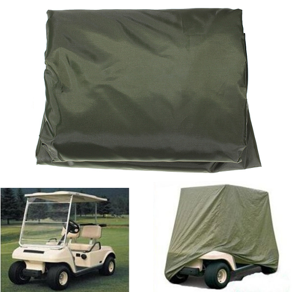 Golf Cart Cover Protector Dustproof Covers Standard 2 Passenger For Yamaha Carts EZGO Club Cars WaterproofGolf Cart Cover Protector Dustproof Covers Standard 2 Passenger For Yamaha Carts EZGO Club Cars Waterproof