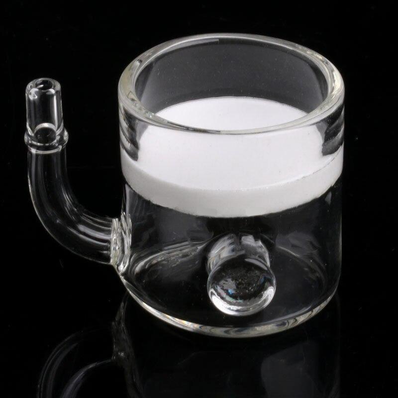 1Set CO2 Flat Aquarium Fish Tank Pollen CO2 Diffuser Regulator Glass Ceramic And Suction Cup For Aquarium Fish Tank