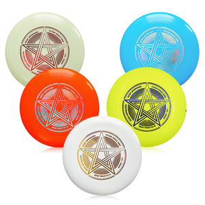 Plastic Flying Discs 9.8 Inch 145g Outdoor Play Toy Sport Disc for Juniors Kids Dog Professional Ultimate Flying Disc