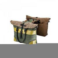 Двусторонняя сумка для отдыха сумка мессенджер Винтажный велосипед рюкзак велосипедная Стойка Сумка заднего сиденья грузовик сумка аксес