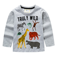 baby t shirts for boys  animal long sleeve T shirt for boy summer children's tees children clothing toddler tops tees camisetas