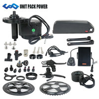 Bafang BBS02 48V 750W mid crank drive motor kit with 48V 17.5AH EBIKE lithium Hailong Shark Battery