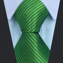 """Аксессуары галстуки для мужчин зеленый мужской s галстук удлиненный 63"""""""