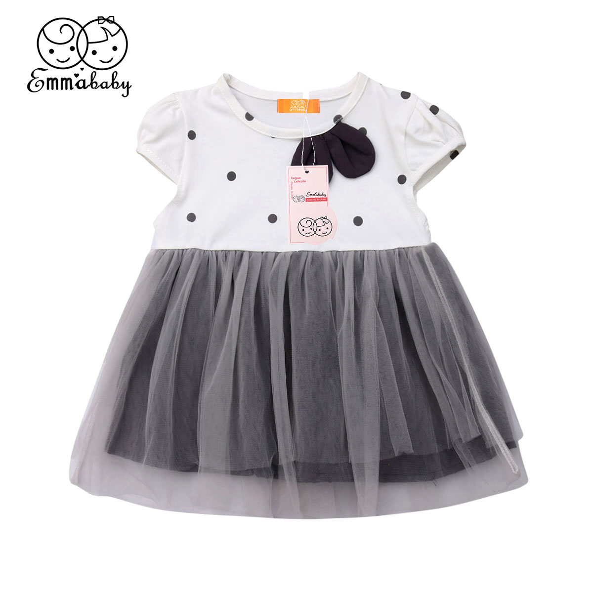 Toddler Baby Girl Princess Plaid Dress Pageant Wedding Party Tutu Dresses 2PCS