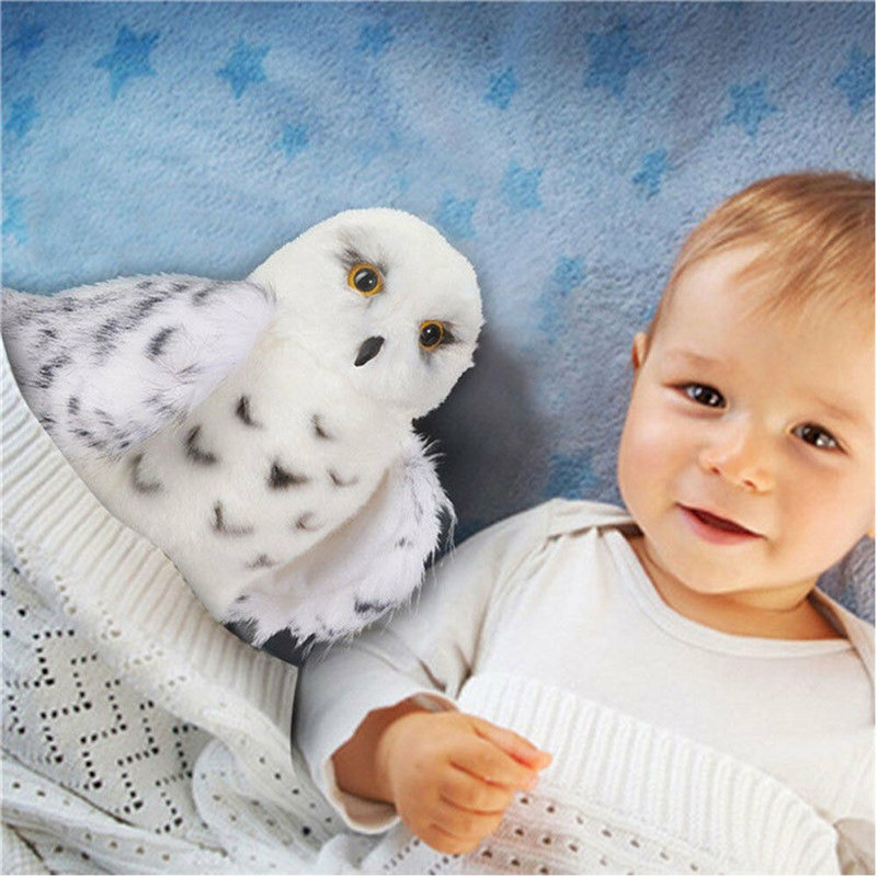 2019 New Wizard Snowy Owl Plush Toy  Stuffed Animal Hedwig Potter Owl New Hot Sale