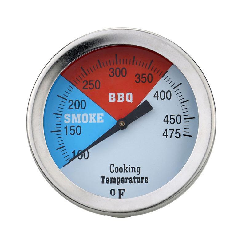 Ehrlich 1 Pc Grill Grill Thermometer Metall Temperatur Gauge Für Medizinische Industrie Chemische Industrie Maschine Durchsichtig In Sicht
