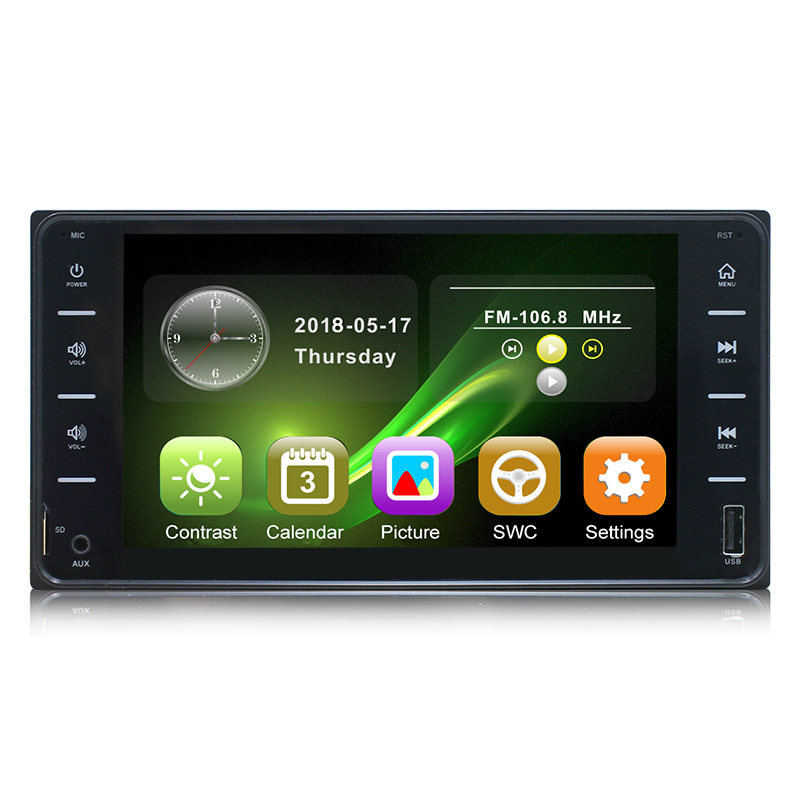 Autoradio MP3 MP5 Touch Screen Auto Radio Support Rear View Camera 1 <font><b>Din</b></font> Car Radio 7