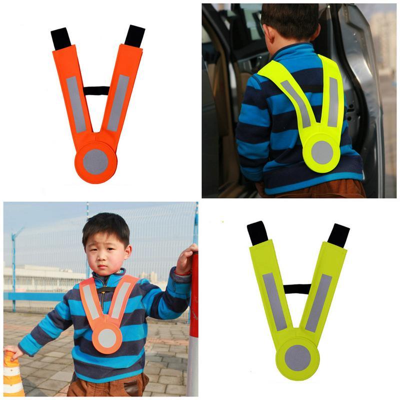 2019 Neue Kinder Reflektierende Weste Schutz Kleidung Riemen Kinder Zu Verwenden Im Freien Für Lauf Radfahren Weste Harness Reflektierende Gürtel