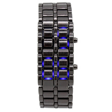 Led Foreign Trade Hot Fashion Cool Alloy lavapan biao Couple Watch Gift Manufacturer Wholesale