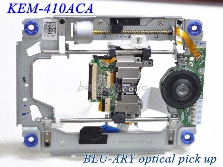 Hot KEM-410ACA KEM 410ACA Laser Lens For Sony/PS3 Fat Phat Game Console KEM410A With Deck Mechanism Optical Blue-ray Replacement image