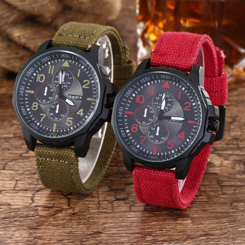 цены Fashion Brand Clock Men Quartz Luxury Couple Watch Military Sports Watches Ribbon Band Army Wristwatch Horloges Erkek Kol Saati
