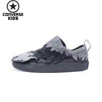 CONVERSE мультфильм детская обувь низкая помощь магия субсидии Нескользящая Мужская детская парусиновая обувь # 759948C S