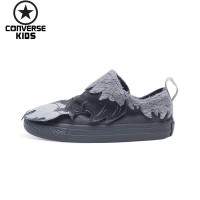 CONVERSE Cartoon Children's Shoes Low Help Magic Subsidies Non slip Male Baby Canvas Shoes #759948C S