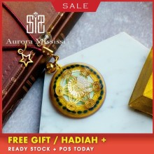 AURAREIKI Orgonite Reiki Natural Crystal Retro Pendant Stone That Changes The Magnetic Field Of Life Glamour Jewelry For Women