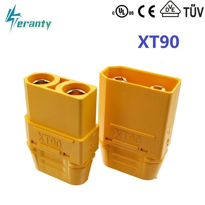 XT90 XT-90 Plug Male Female Bullet Connectors Plugs For RC Lipo Battery Quadcopter Multicopter For Aircraft Accessories Parts