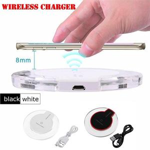 Image 5 - Portable Charger Adapter Crystal K9 Phone Wireless Quickly Unlimited Charging Pad Safe Automatic Power off Devices For Iphone