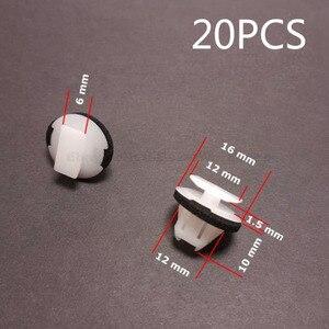 Image 1 - 20 sztuk samochodów nadkole Surround klipy wykończenia dla Nissan Juke i x trail T31 skrzydło formowania samochodów nity klipy akcesoria