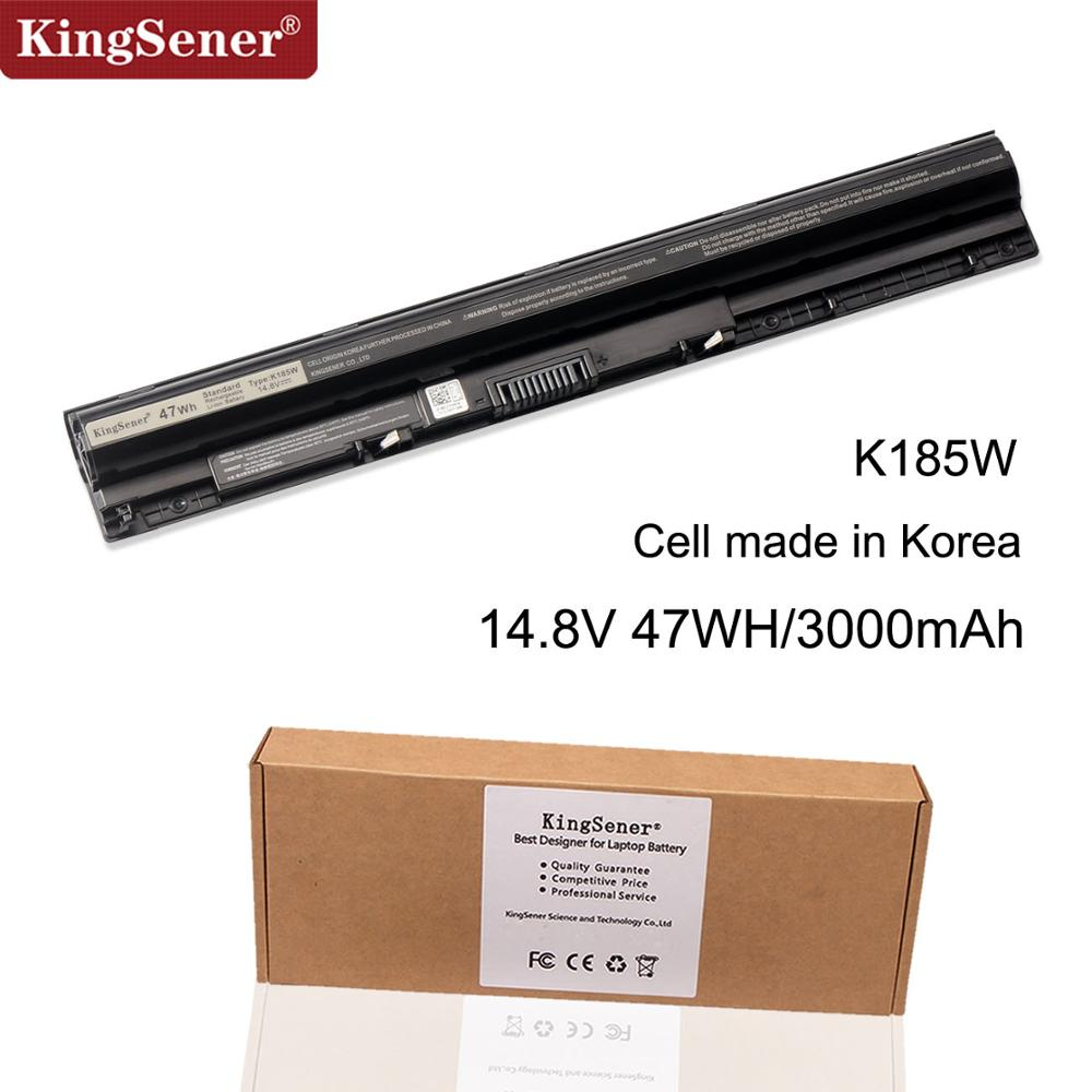 Korea Cell 14.8V 47WH K185W M5Y1K Battery For DELL 3451 3551 3458 5458 3551 3558 5451 5455 5551 5555 5558 5758 GXVJ3 HD4J0