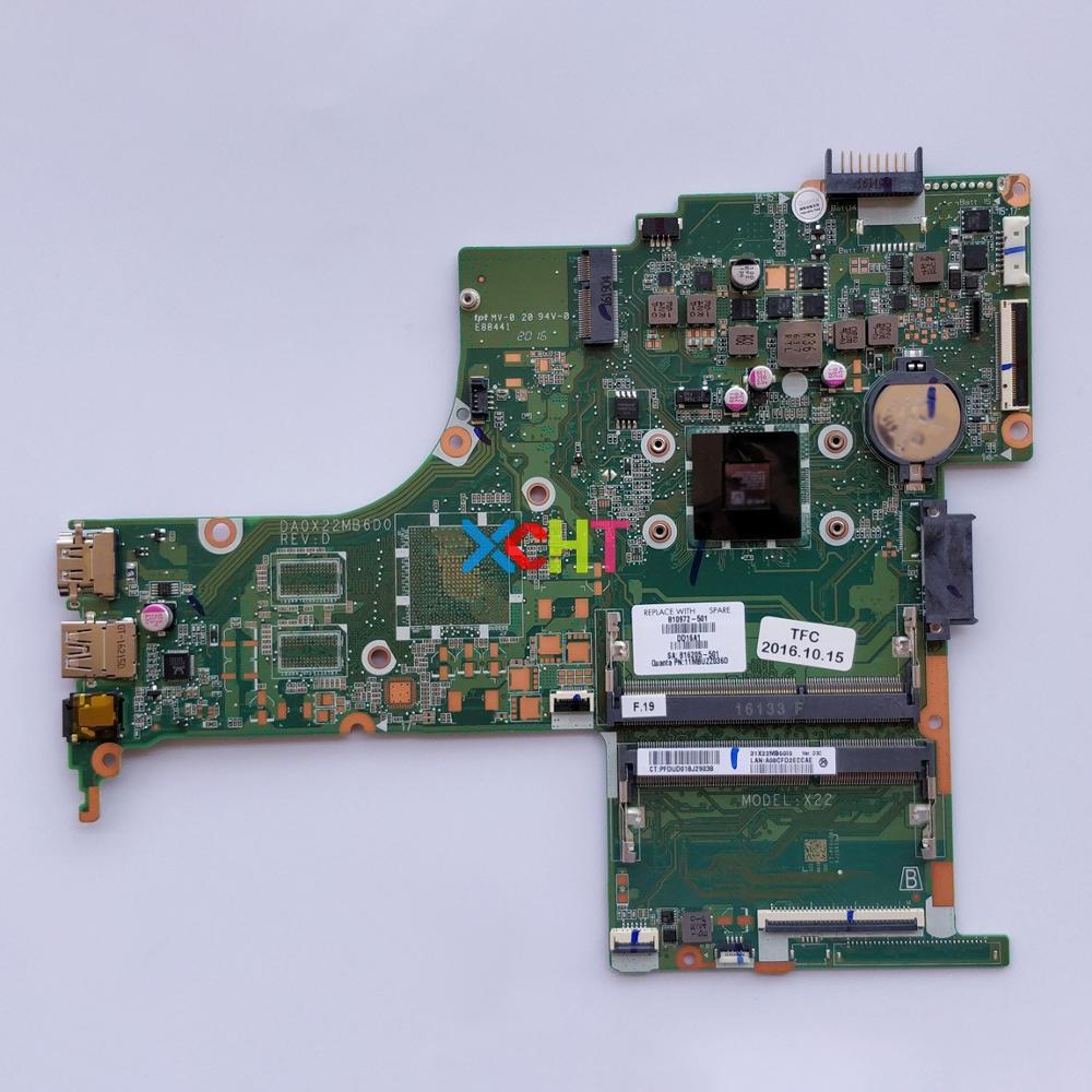 Per HP Pavilion 14 14-AB Serie 810972-501 810972-001 810972-601 DA0X22MB6D0 w A8-7410 CPU Notebook PC Scheda Madre Del Computer PortatilePer HP Pavilion 14 14-AB Serie 810972-501 810972-001 810972-601 DA0X22MB6D0 w A8-7410 CPU Notebook PC Scheda Madre Del Computer Portatile