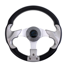 315MM ALUMINUM ALLOY MARINE BOAT PONTOON STEERING WHEEL 3 SPOKE 3/4 inch SHAFT Boat Parts & Accessories free shipping rc boat water steering wheel 170mm 6061 7075 aluminum alloy steering wheel spare parts for rc boat model