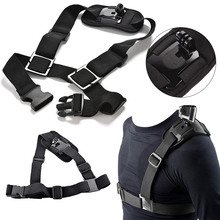 Sports Action Cameras Accessories Adjustable Shoulder Chest Strap Mount Harness Belt for GoPro Hero 3+ 4 Camera цена и фото