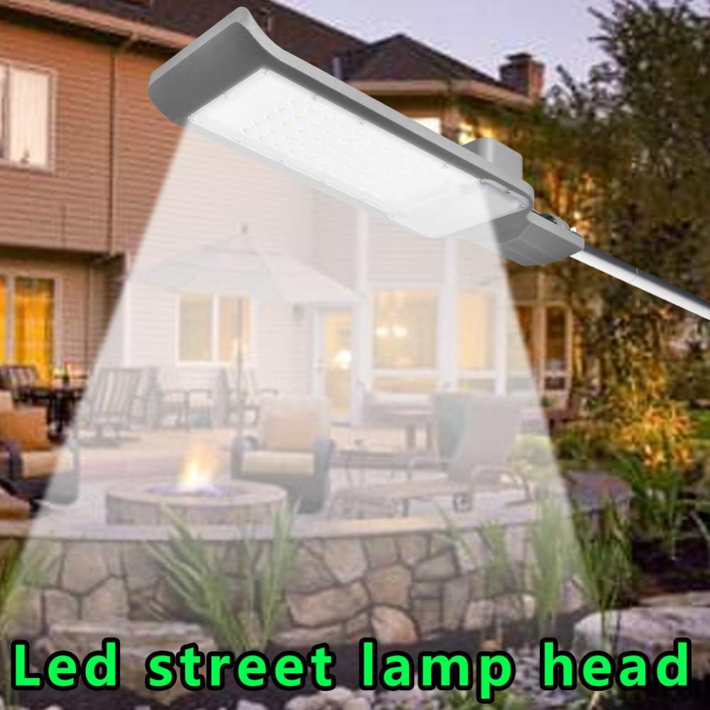 Waterproof IP65 30W/50W Led Light Street Lamp Head Aluminum Outdoor Road Lamp Led Street Flood Light Garden Spot Lamp AC85-265V кружка fireside chat 425 мл