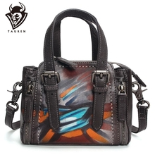 Handmade Leather Handbags Women Bag High Quality Casual Female Bags Trunk Tote Spanish Brand Shoulder Bag Ladies Large Bolsos