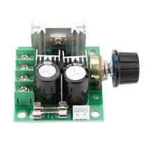 цена на 12V-40V 10A PWM DC Motor Governor Stepless Variable Speed Switch Module 13kHz DC motor speed controller High Quality