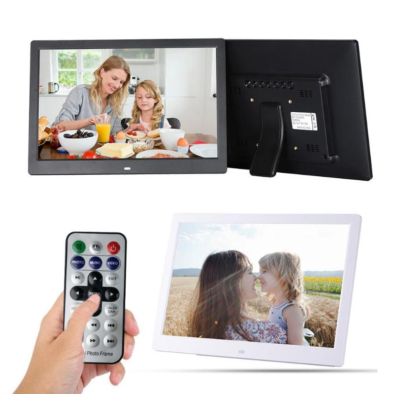 13 Inch Digital Photo Frame HD 1280X800 LED Display Playback Electronic Album Picture Movie Player Timing Alarm Clock13 Inch Digital Photo Frame HD 1280X800 LED Display Playback Electronic Album Picture Movie Player Timing Alarm Clock