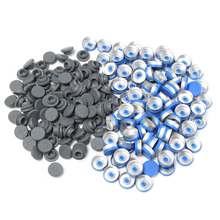 100Pcs 20MM Stoppers + Caps For Flip Off Vial Seal Sealing Bottle Crimper for Small Medicine Bottles