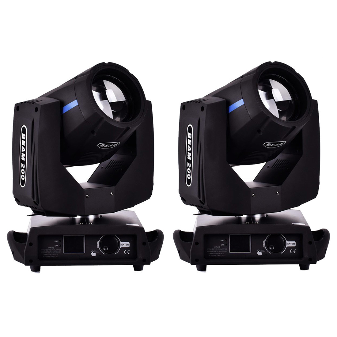 2pcs 200W DMX512 16CH LED Beam Moving Head Light Stage Lighting Effect Stage Light 2pcs 200W DMX512 16CH LED Beam Moving Head Light Stage Lighting Effect Stage Light