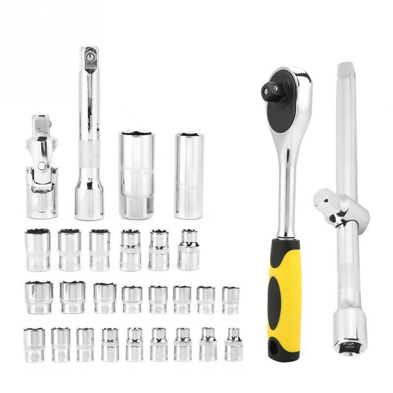 TU2132 32Pcs Socket Ratelsleutel Combinatie Tool Kit voor Auto Reparatie - 6