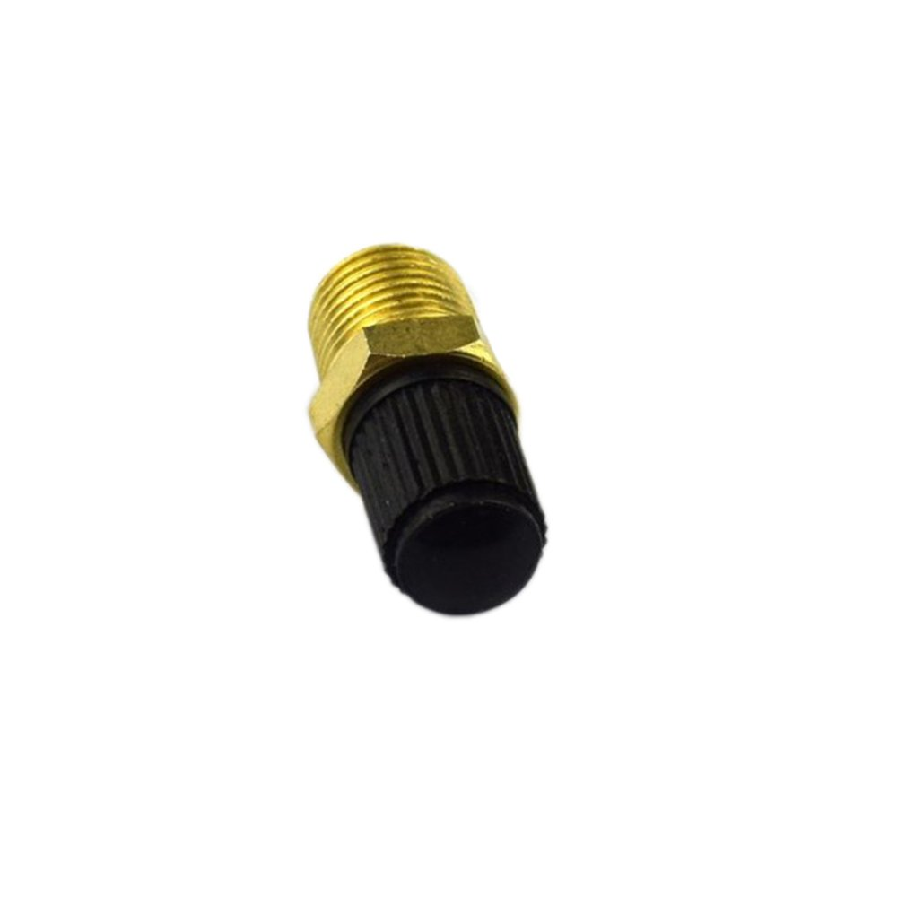 "Hot 2PCS//SET Durable Use 1//4/"" NPT MPT Brass Air Compressor Tank Fill Valve"