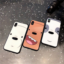 KISSCASE Animal Patterned Phone Cases for iPhone 7 8 Cartoon Cute Protective Back Case for iPhone XS MAX XR 6 6S 7 8 Plus Cover protective 3d celestial bodies patterned plastic back case cover for iphone 6 blue black