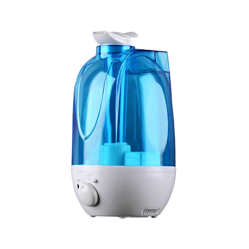 EAS 4L Ultrasonic Air Humidifier Mini Aroma Humidifier Air Purifier with LED Lamp Humidifier for Portable Diffuser Mist Maker in Humidifiers from Home Appliances