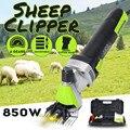 850 W 110/220 V 6 Geschwindigkeit Regulierung Elektrische Schaf Ziege Schermaschine Clipper Scheren Cutter Wolle scissor Mit box